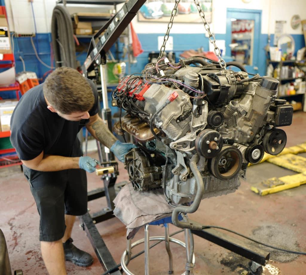 2004 Mercedes Benz S500 Engine Replacement Import Specialties of Columbia