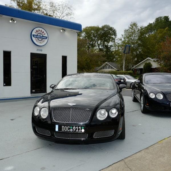 Bentley day at Import Specialties Import Specialties of Columbia