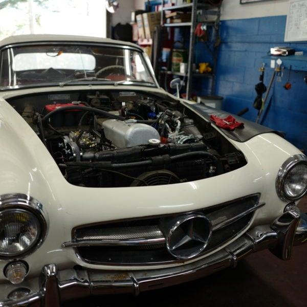 1956 Mercedes Benz 190 SL Import Specialties of Columbia